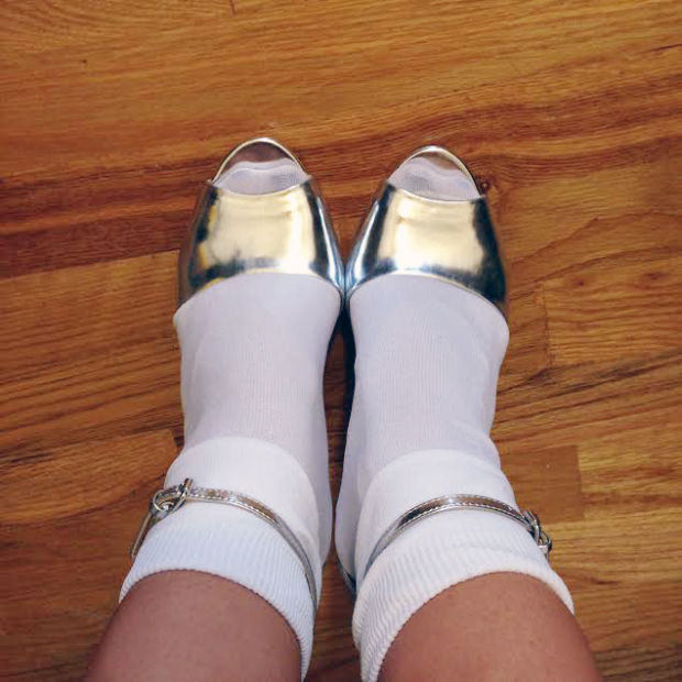 Socks on Sandals, Now Trendy